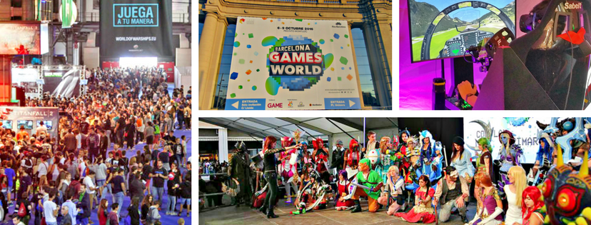 Ottobre Barcelona Games World